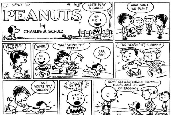 """返回 / """"【看史努比漫画 学英语】四格漫画的好玩英语(周日特辑第二期"""