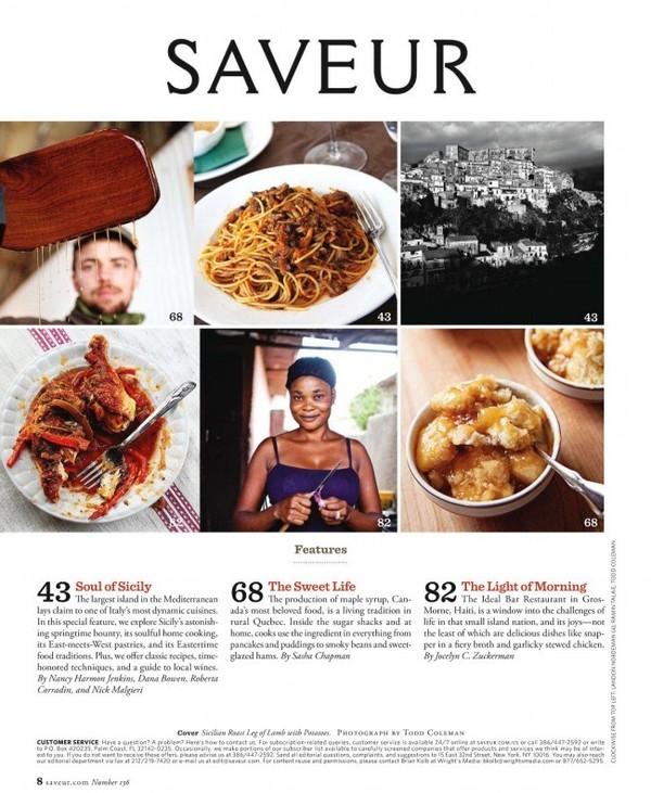 [看杂志,学英语][美味杂志美食《原版》Saveur怎么美食城收费的招商图片