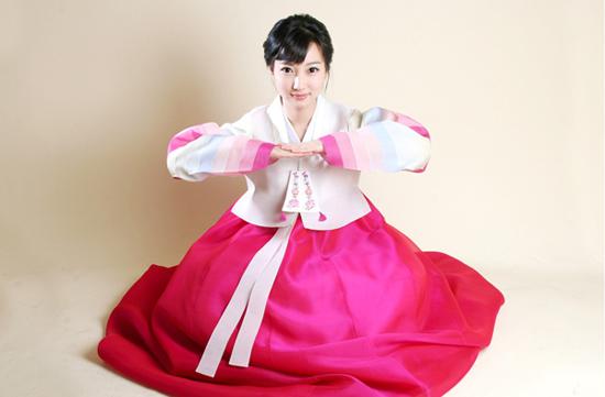 韩国古装美女韩国传统服饰韩国古装古装韩服