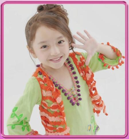 儿童和服发型