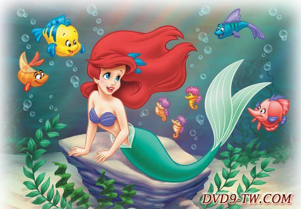 《小美人鱼》是迪斯尼根据丹麦作家安徒生的童话