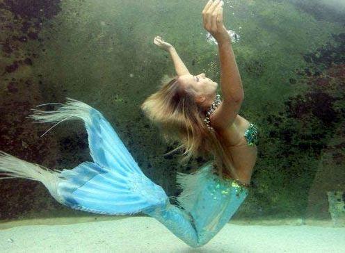 不喊哎呦喊ouch 世界上有 没有 美人鱼 美国 高清图片