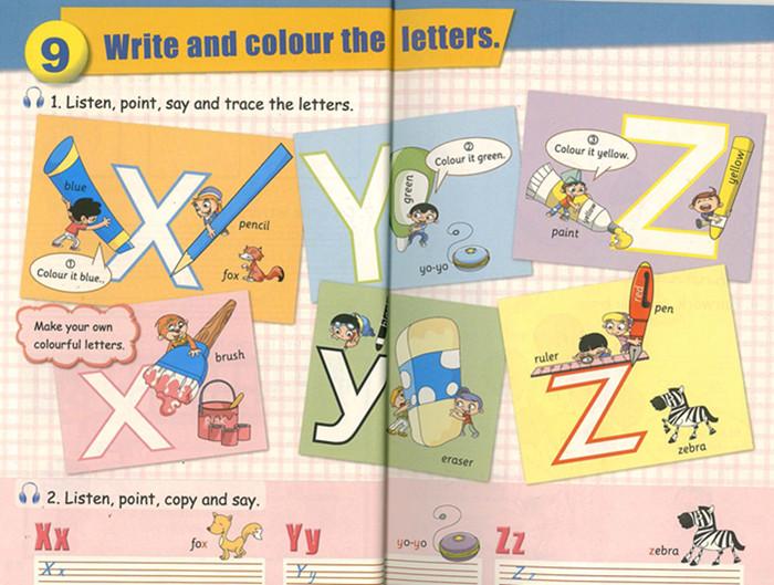 关于颜色的英语板报