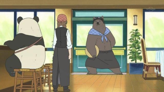 看《白熊咖啡厅》学常用日语单词038-灰熊先生开始