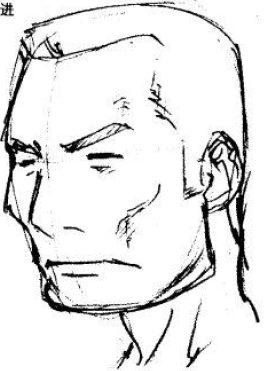 返回 / 超级漫画素描技法-四角形轮廓