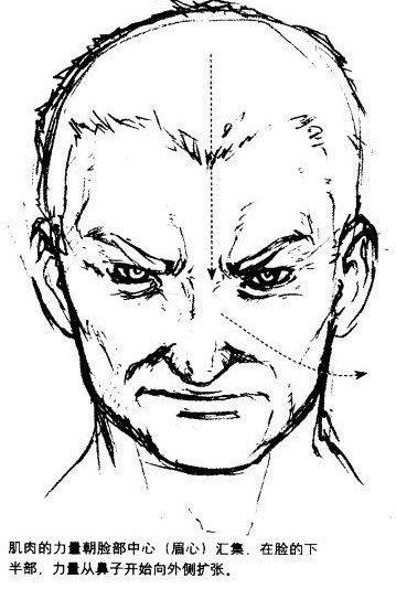 超级漫画素描技法-脸部和肌肉的表情2