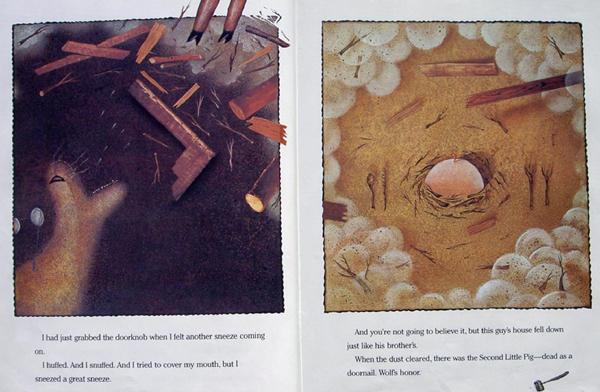 英文原版绘本欣赏馆:三只小猪的真实故事