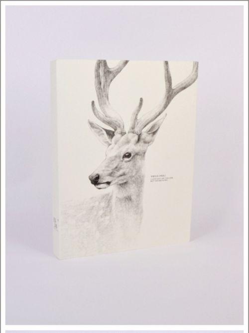 唯美小清新文图:幻想自己是一只麋鹿,在北欧童话里遇见你